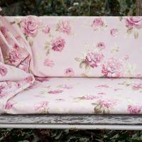 Rózsaszín rózsás hintaágyhuzat